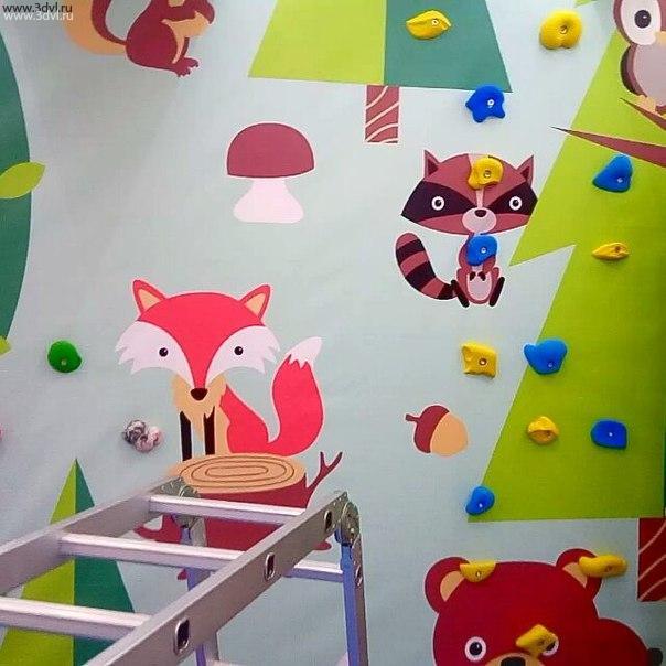 Детский Скалодром Жужа с доставкой по России от производителя смотрите проекты